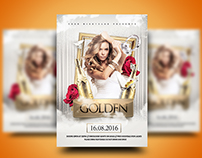 The Golden Event Flyer
