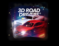 App Icon for racing game