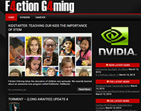 F4ction G4ming Re-Branding