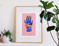Silkscreen printed posters