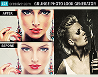 Grunge Photo Look Generator in Photoshop