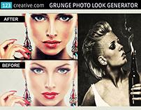 Grunge Photo Look Generator in Photoshop