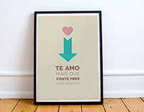FREE Download: Amor de Designer Posters