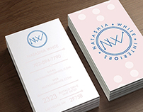NW Interiors Log and Business Card Design