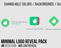 Minimal Logo Reveal Pack, After Effects Templates