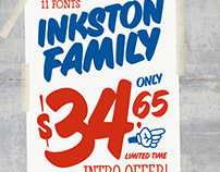 Inkston Font Collection