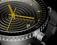 Wavy Diver Watch