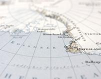 Antarctica 1:40,000,000