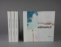 Painter artist catalog design