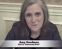 Amy Goodman from Democracy Now! Declares Her Vision