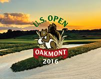2016 U.S. Open Championship Branding