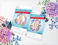 DenizBank SM Posts for International Women's Day