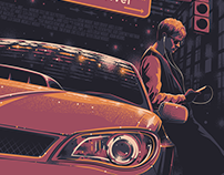 BABY DRIVER for Poster Posse/Sony Pictures