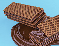 3D-Wafer-Cookie-Chocolate- Imagery -Packaging
