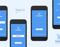 DailyUI #001 - Daily Designs #003
