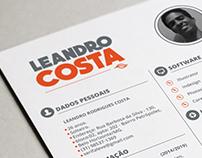 Currículo - Leandro Costa