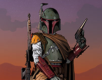 Boba Fett - Star Wars Piece
