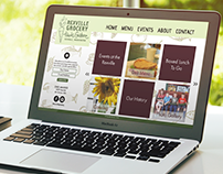 Rexville Grocery Website Redesign