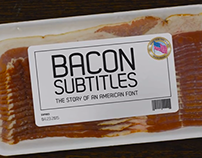 Bacon Subtitles - Chicago Latino Film Festival