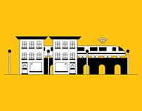 Sprint Business Illustration