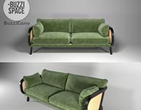 Buzzicane sofa