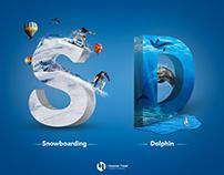 Dolphin - Snowboarding