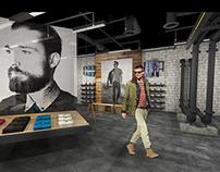 Men's Retail Pop Up Shop