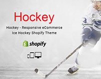 Hockey – Responsive eCommerce Ice Hockey Shopify Theme