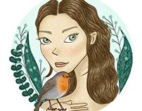 Botanical Girls - Birdie