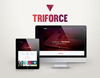 Desenvolvimento + Design : Site Agência Triforce