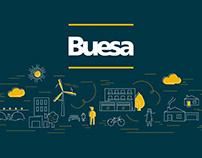 Groupe Buesa - Rebranding