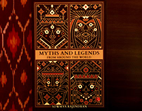 MYTHS AND LEGENDS - -BOOK COVER ART