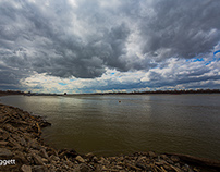 SKIES AND THE MIGHTY MISSISSIPPI