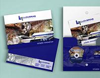 Lloveras: Diseño de fichas de productos, anuncios...