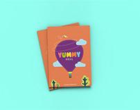 Yummy Meal : Kids meal menu card