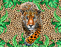 Estampa Leopardo