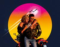 TOP GUN, alternative movie poster.