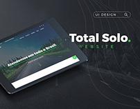 Website - UI Design | Total Solo