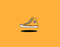 Converse Chuck Taylor ALL STAR color project