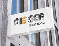 "Rebranding of the ""Finger - Guest Room"" Hostel."