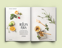 Organics Cosmetics Spreads: Bons Fluidos Mag