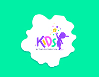 Kids Acting Preparation Logo Design