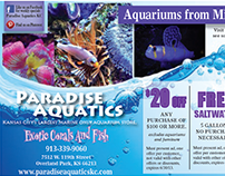Direct Mailing Ads - Paradise Aquatics
