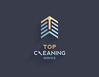 Top Cleaning Service Logo (Rebrand)