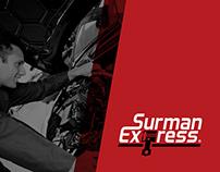 Surman Express Logotype & Branding