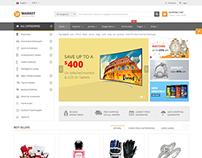 SJ Market - Clean & Creative VirtueMart 3 Joomla Theme