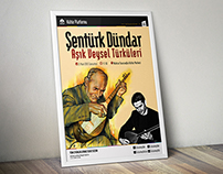 Sultanbeyli Belediyesi Aşık Veysel Türküleri Posteri