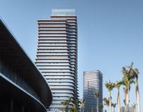 Xiamen Center Skyscrapers