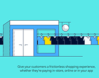 Adyen | Shopping experiences video animation