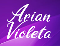 Freebie - Arian Violete Free Font